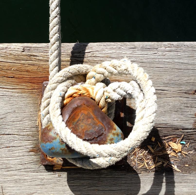On the docks II-IV