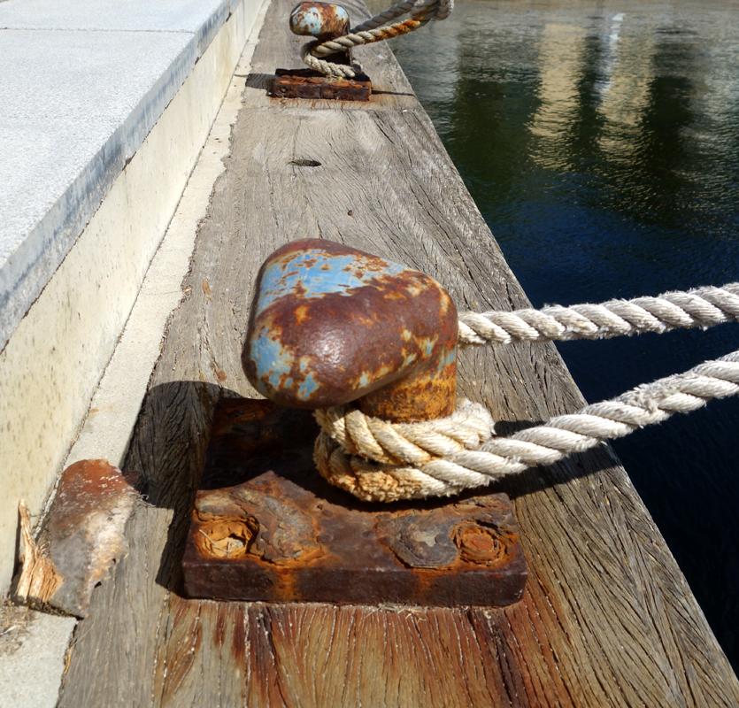 On the docks II-VIII