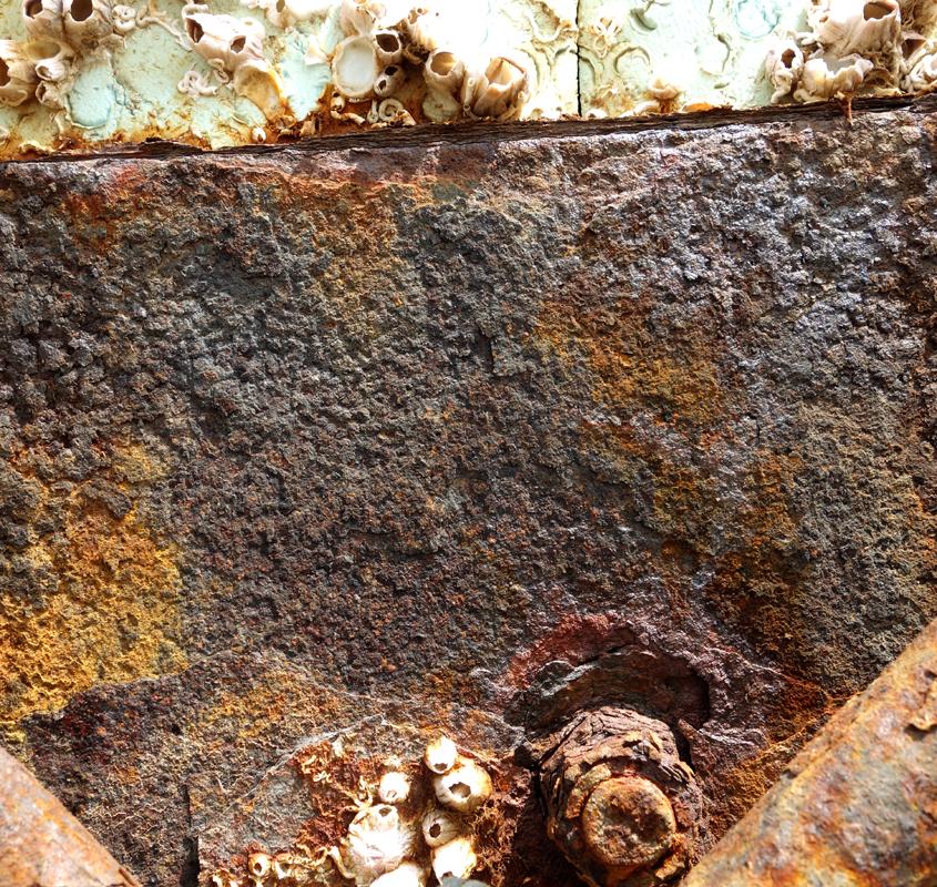 Rusty material V