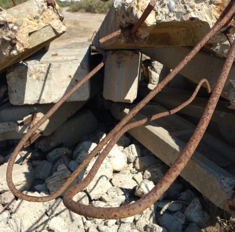 Scrap and concrete III